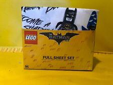 NEW Lego The Batman Movie FULL Sheet Set 4 piece Microfiber Super Soft