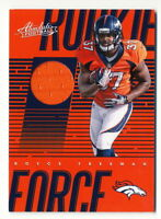 ROYCE FREEMAN RC 2018 Panini Absolute Rookie Force Jersey Relic Denver Broncos