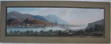 Heidelberg Panorama-Ansicht Orig Farblithografie 1850 Baden Württemberg