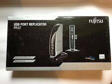 Fujitsu USB Port Replicator PR07 Brand New Euro Power Supply