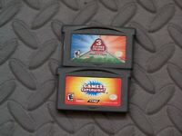 Lot Nintendo Game Boy Advance GBA Games Majesco's 3 in 1 Sports, Games Explosion