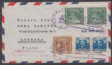 El Salvador: Lucerna,Switzerland;Insufficienty Prepaid for Transatlantic Airmail