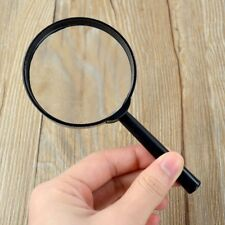 Magnifier 60mm Handheld 5X Magnifying Glass Handheld Low Vision Reading