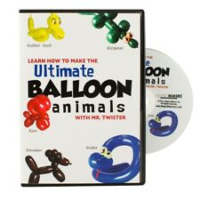 Ultimate Balloon Animals and More - Magic Tricks Dvd - New
