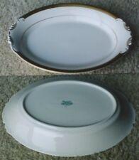 Syracuse Bracelet fine china 14 inch oval platter-NR