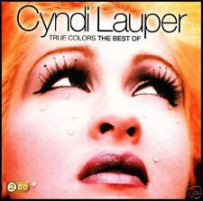 CYNDI LAUPER (2 CD) TRUE COLORS : THE BEST OF ~ 80's TIME AFTER COLOURS *NEW*