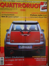 Quattroruote 625 2007 Punto 1.4 Turbo - Hyunday I30    [Q49]