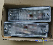 2 x HOLDEN RODEO CLEAR FRONT BUMPER LIGHTS FIT 7/1988-12/1996 LH RH 89 90 91 92