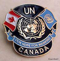 Canada CAVUNP Canadian Veterans U.N UN United Nations Peacekeeping Beret Badge