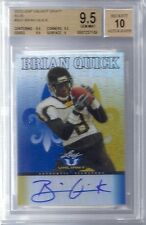 BGS 9.5 2012 Leaf Valiant Draft BLUE AUTO Brian Quick RC #d/99