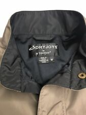 Men's Dryjoys By Footjoy Rain Pullover •Size Medium *Euc
