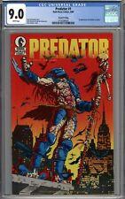 Predator #1 RARE 2nd Print Variant CGC 9.0 VF/NM 1st Predator Appearance WHITE
