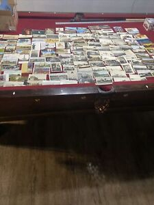 HUGE lot of 100+ EARLY 1900s real photo postcards PEOPLE buildings GROUPS