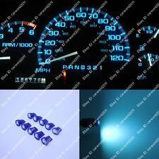 10x Ice Blue T10 168 W5W LED Gauge Speed instrument Panel Dashboard Light Bulb B