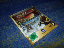 Heroes of Might and Magic V Tribes of East & Hammers of Fate Box NEUWARE