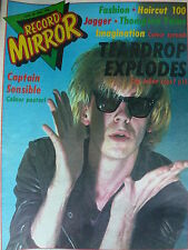 RECORD MIRROR 26/6/82 - TEARDROP EXPLODES - CAPTAIN SENSIBLE