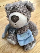 "GOLDSMITHS - BERTIE 2004 12"" TEDDY BEAR w/ SCARF & SATCHEL - LOVELY Condition"