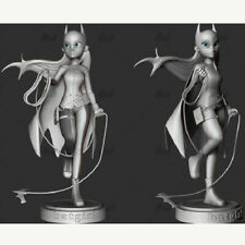 Cat Woman Comic Unpainted Figure Blank Kit Model Resin GK 20cm Hot Toy Stock