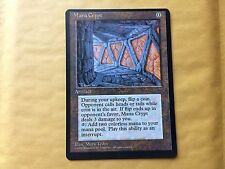 Miscut Mana Crypt Book Promo Misprint MTG Magic Card Vintage Commander