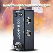 MOSKY Loop Box Guitar Effect Pedal Looper Switcher Channel Selection True Bypass