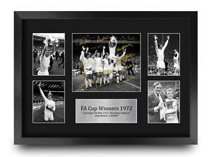 Leeds United 1972 FA Cup Winners Signed Print A3 Photo a Football Fan