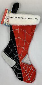 Marvel Spiderman Venom Christmas Stocking Fur Cuff Red Black Forever Collectib