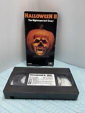 Vintage Halloween II 2 Horror MCA Universal 1990 Michael Myers VHS
