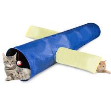 Pet Cat Tunnel 3 Way Collapsible Kitten Training Toy Rabbit Play Tube ball
