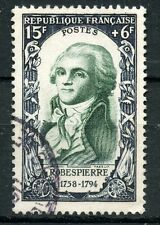 PROMO / STAMP / TIMBRE FRANCE OBLITERE N° 871 ROBESPIERRE COTE 17 €