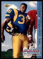 1993 UD STAR ROOKIE JEROME BETTIS RC LOS ANGELES RAMS #20