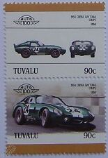 1964 COBRA DAYTONA COUPE Car Stamps (Leaders of the World / Auto 100)