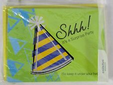 AMERICAN GREETING 10 Pack of SURPRISE PARTY Invitations Unisex Design