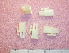 Qty (50) 172336-1 Tyco 2 Position Latch Lock Free Hanging Plug Housing 4.2mm