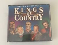 """READERS DIGEST """"KINGS OF COUNTRY """"RARE 80 TRACK 4 CDS SET."""