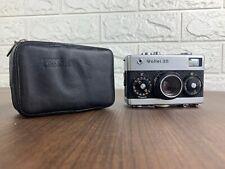 Rollei 35 Miniature Viewfinder Film Camera w/Tessar 3.5 40mm Lens + Case/Filter