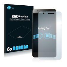 6x Displayschutzfolie für Jiayu S3 Klar Transparent Schutzfolie Displayfolie