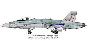 1/48 RAAF DECALS; F/A-18A Hornet 3 SQN - RAAF 75th Anniversary