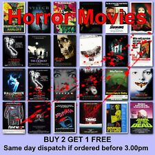 Classic Horror Movie Posters Film Poster 125 Titles HD Borderless Printing