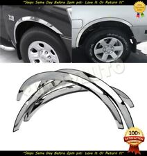 POLISHED 3/4 STAINLESS STEEL FENDER TRIMS SURROUNDS FOR 2004-2010 NISSAN TITAN
