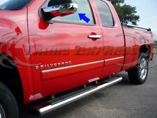 2007-2013 Chevy Silverado/Suburban/Tahoe/Avalanche Chrome Door Mirror Covers