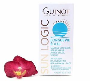 Guinot Longue Vie Soleil - After-Sun Rejuvenating Repair Mask 50ml