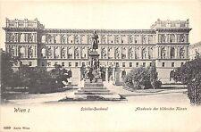 Br33477 Wien Schiller Denkmal Academie der bildenden Kunste austria