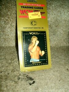 1991 WCW CHAMPIONSHIP MARKETING,INC 25 CARD BLISTER PACK UNOPENED BRIAN PILLMAN