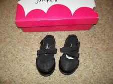 NEW NIB girls Toddler JUMPING BEANS Black Mary Janes Flats Shoes sz 5 leapfrog