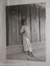 Vecchia cartolina foto d epoca di Jilguero de la sierra bambino Rodriguez