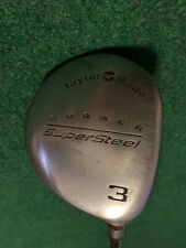 New listing Taylormade Burner Supersteel 3 Wood R-80 Bubble