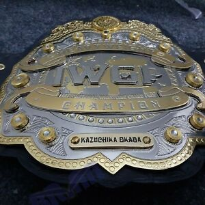 IWGP Heavyweight Championship Belt  Double layer Adult size