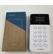 Simplisafe KP3W Wireless Keypad Remote White 3rd Generation