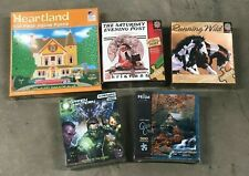 5 boxes Puzzle Play entertainment game lot green lantern horses Christmas