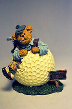 Boyds Bears: Wilson Puttenstuff 2277991 Par For The Course  Bearstone Collection